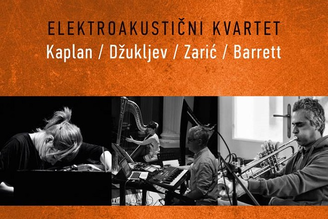 Kvartet Kaplan / Džukljev / Zarić / Barrett (foto: detalj sa plakata)