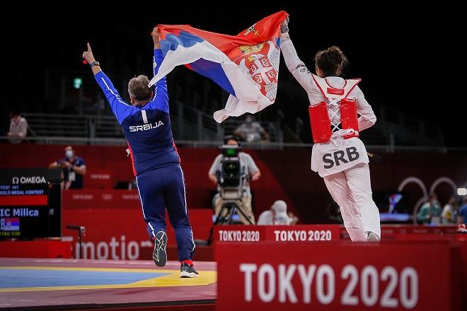 LOI: Milica Mandić osvojila zlatnu medalju (foto: OKS)