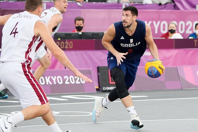 Reprezentacija Srbije u basketu 3x3 (foto: OKS)