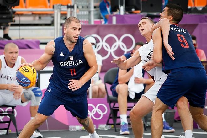 Reprezentacija Srbije - basket 3x3 (foto: OKS)