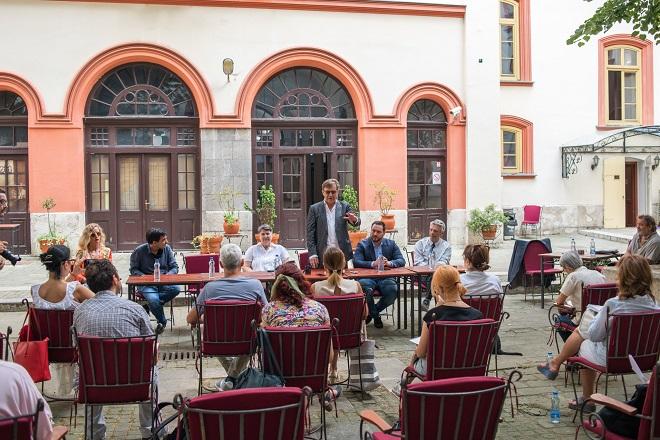 Teatrijum - najava sezone u Kapetan Mišinom zdanju (foto: Boško Binuševac)