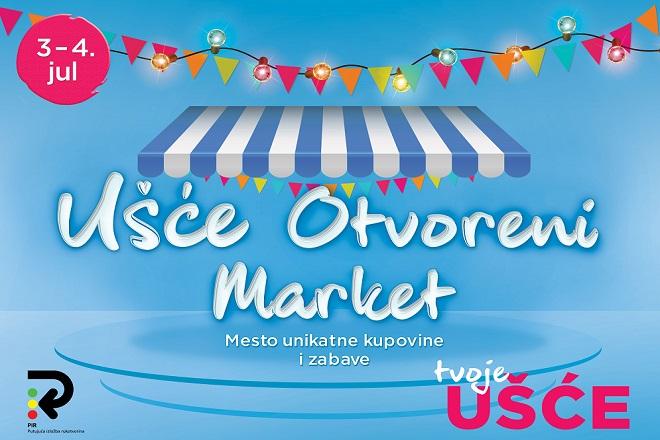 Ušće otvoreni market: Tržni centar domaće robe pod otvorenim nebom