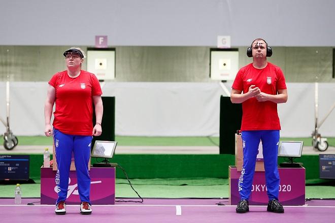 Zorana Arunović i Damir Mikec - četvrti (foto: OKS)