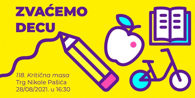 118. Beogradska Kritična masa: Zvaćemo decu!