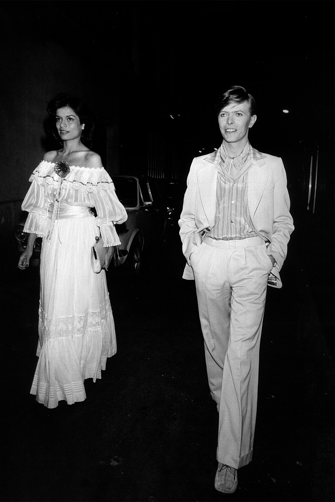 Bjanka Džeger i Dejvid Bouvi, 1977. (foto: Jadran Lazić)