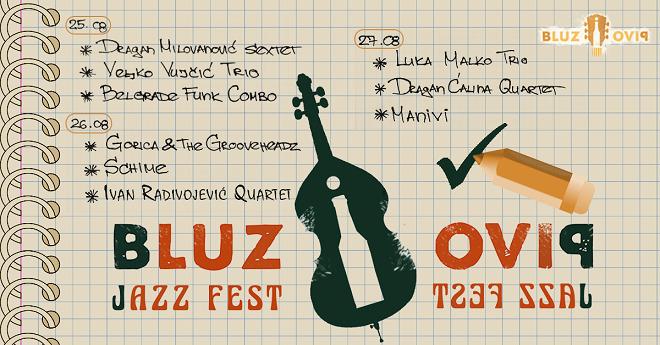 Bluz i pivo Jazz Fest - program