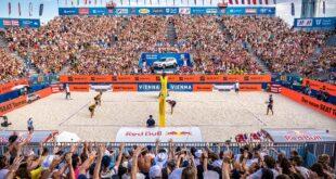 Evropsko prvenstvo u odbojci na plaži 2021. u Beču (foto: © ACTS Limex Jörg Mitter)