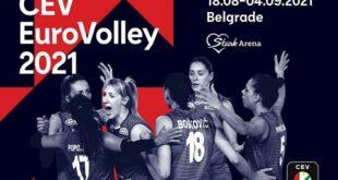 XXXII Evropsko prvenstvo za odbojkašice (18. avgust - 4. septembar 2021)