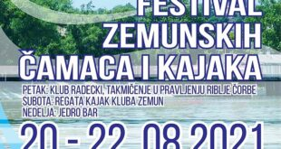 Festival zemunskih čamaca i kajaka 2021