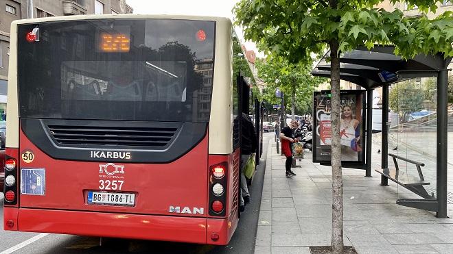 Bus plus / GSP Beograd (foto: Aleksandra Prhal)