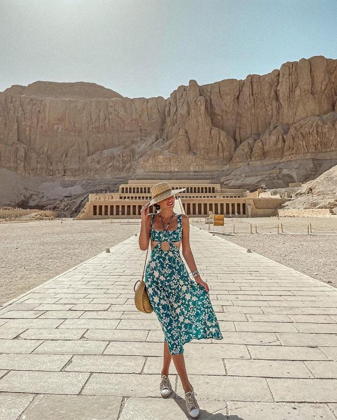 Jovana Kvržić u Egiptu