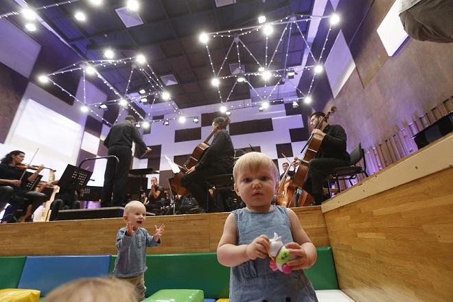 Beogradska filharmonija: Koncerti za bebe (foto: Marko Đoković)