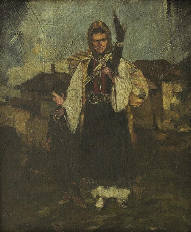 Istorijski muzej Srbije: Đorđe Krstić - Prelja