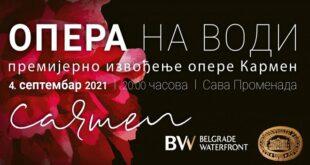 Opera na vodi: Karmen