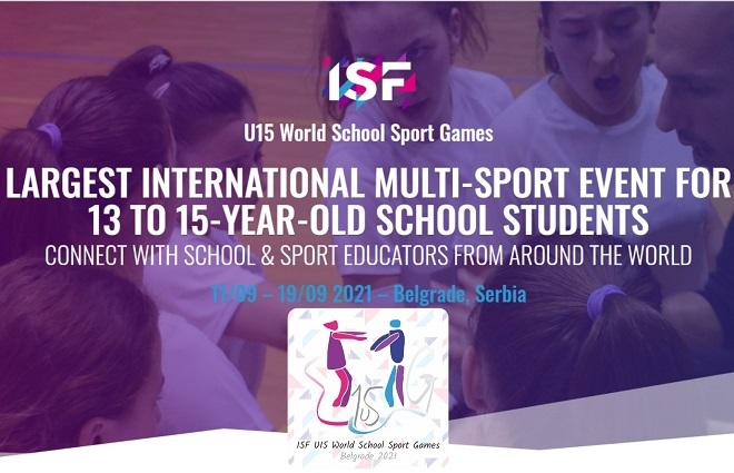 Svetske sportske igre mladih u Beogradu (U15 World School Sport Games)