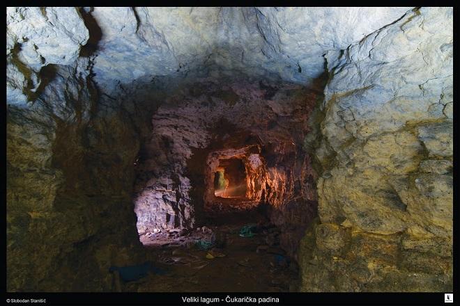 Tajne čukaričkog podzemlja: Veliki lagum (foto: Slobodan Stanišić)