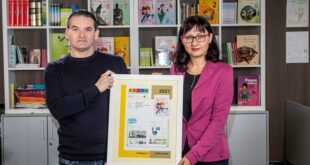 "Srpski ""Digitalni svet 1"" - najbolji evropski udžbenik za prvake: Arpad Pastor i Gordana Rackov, autori"