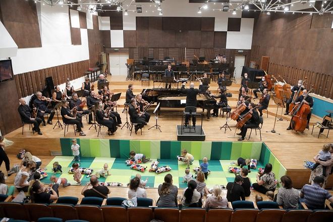 Beogradska filharmonija: koncerti za bebe u Sali BGF (foto: Marko Đoković)