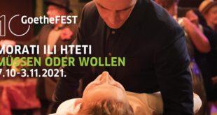 GoetheFEST 2021 - festival nove nemačke filmske produkcije u Beogradu