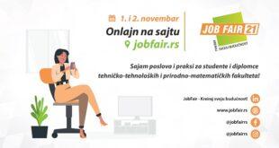 Sajam poslova i praksi JobFair - Kreiraj svoju budućnost! 2021