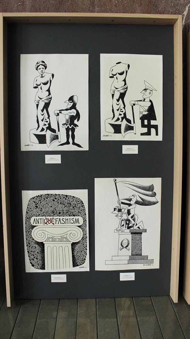"Galerijski prostor NBS: Izložba ""Klas - karikature"""