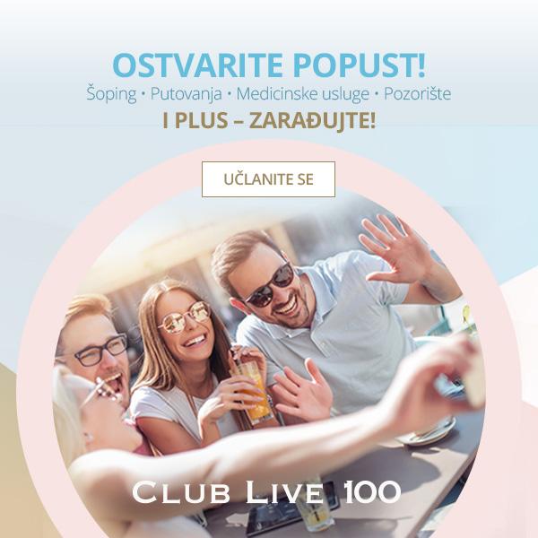 Zepter Club Live 100 - banner